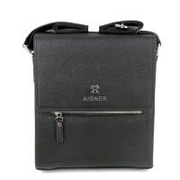 Tas Pria Slimbag Bodybag Import Branded - AIGNER JNRN BLACK