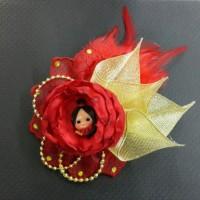 Jual  Jepit rambut ROSE Marabau Clip  Imlek edition T2909 Murah