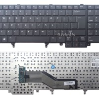 Keyboard Dell Precision M4600 M4700 M4800 M6600 M6700 M6800 Black