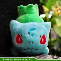Boneka Anime Pokemon Bulbasur 2 - Kartun Lucu Unik Murah UlangTahun Jg