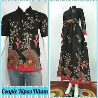 Couple Batik Gamis Kipas
