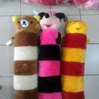 Jual Boneka Guling Besar Karakter Motif Rilakkuma Pooh Minnie Murah