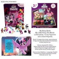 My Busy Book My Little Pony The Movie