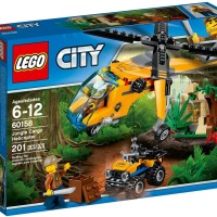 Jual LEGO City Jungle Cargo Helicopter Murah