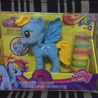 Play Doh Rainbow Dash Style Salon My Little Pony