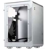 Jonsbo U2 Window Silver Mini ITX Case | Aluminium Computer PC Casing