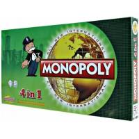 Jual Mainan Edukatif / Edukasi Anak - Monopoli 4 in 1 Games  Murah