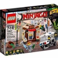 LEGO Ninjago The Movie-70607 City Chase Set Ninja Police Car Promo T