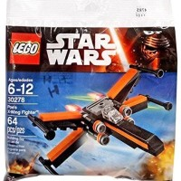 Jual LEGO Star Wars-30278 Poe's X-Wing Fighter Polybag Toy Poe Tie Aircra  Murah
