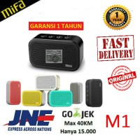 Jual [GARANSI] Speaker Xiaomi MiFa M1 Portable Cube Bluetooth SD Card Slot Murah