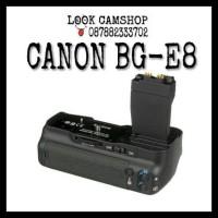 BATERAI BATTERY GRIP CANON BG-E8 BGE 8 FOR EOS 550D 600D 650D 700D