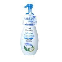 Jual Leivy Naturally Foam Moisturising Body Shampoo Goat Milk 1000ml Murah