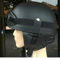Helm Chip Chips Kulit Retro Classic