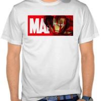 Jual Kaos Marvel Logo - Iron Man 2 (NMAJR) Murah