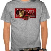 Jual Kaos Marvel - Iron Man Fly (NMAJS) Murah