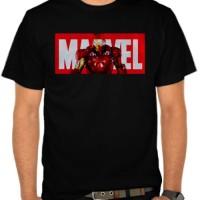 Jual Kaos Marvel Logo - Iron Man (NMAJQ) Murah