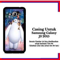 Casing Samsung J3 2015 Big Hero 6 Baymax 2 Custom Hardcase