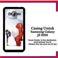 Casing Samsung J3 2016 Big Hero 6 Baymax 5 Custom Hardcase