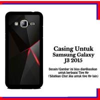 Casing Samsung J3 2015 black iphone 6 Custom Hardcase
