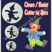 Clown/Badut Cutter isi 3pcs