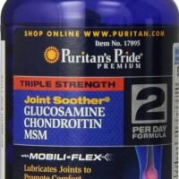 RECOMENDED Triple Strength Glucosamine 90 Caplets Puritan s Pride USA