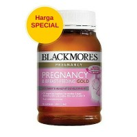 Jual LIMITED Blackmores Pregnancy Breast Feeding Gold 180 caps OK988 Murah