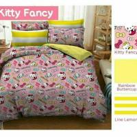 sprei murah merk star/bintang kecil motif Kitty Fancy uk 160x200