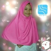 Jual Khimar/syari/hijab/jilbab/bergo/instan/kaos/ Najwa anak (kids) Murah