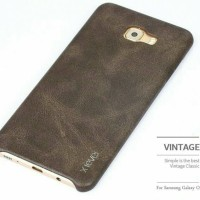 HARDCASE SOFT SAMSUNG GALAXY C9 PRO, C 9 COVER X-LEVEL VINTAGE LEATHER