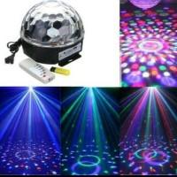 Jual All  led magic ball MP3 / lampu disco music jamur MP3 bola musik Murah