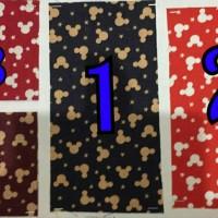 Jual Kain Katun Premium Vintage Mickey Mouse Lebar 1,15 METER  Murah