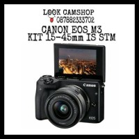 KAMERA MIRRORLESS CANON EOS M3 EOS M 3 KIT 15-45mm IS STM
