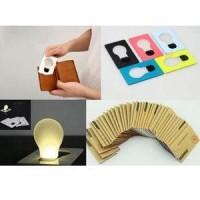 Jual Lampu Kartu LED Portabel Diskon Murah