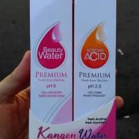 Jual kangen water paket beauty water n strong acid nano spray Murah