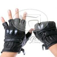 Jual Sarung Tangan Motor Pendek Half Finger Original Geunine Limited Murah