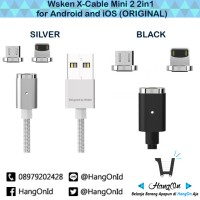 Jual [Bisa GOJEK] Wsken X-Cable Mini 2 (2in1) Magnetic Charging Cable Murah