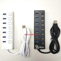 USB HUB 3.0 7 port by DIGIGEAR HIGH SPEED 1.2 meter