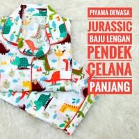 Jual Piyama Dewasa Jurassic Murah