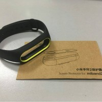 Jual Mi band 2 strap replacement + Free screen protector guard by Mijobs Murah