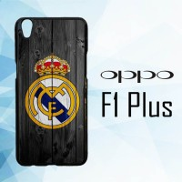 Casing Hardcase HP Oppo F1 PLUS Real Madrid Logo X5960