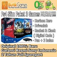 Sony PS4 Slim Playstation 4 Slim 500GB CUH-2006A Hits Bundle (3 Game)