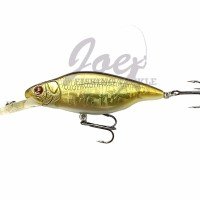 New Sebile Minnow Rattsler 85 SL 12 5 gr OG Natural Golden Shiner Te