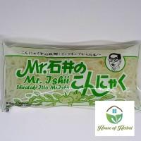 Mie Shirataki Hijau - Wet Shirataki Noodle 200g Mr Ishii Ito Konnyaku