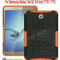 "Samsung tab S2 8"" T710 T715 soft case casing back cover RUGGED ARMOR"