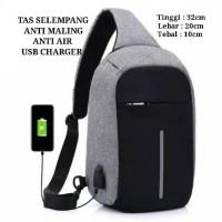 Jual Tas Anti Maling (Anti Theft Backpack - Smart Back Pack) USB CHARGER Murah