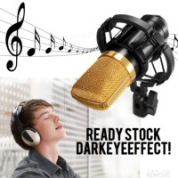 Microphone Mic Condenser Recording Smartphone PC Laptop smule youtube