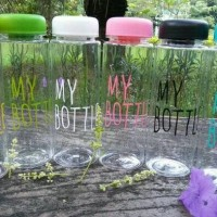 Jual MY BOTTLE/BOTOL INFUSE/BOTOL INFUSED WATER/BOTOL KARAKTER Murah