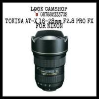 LENSA KAMERA DSLR TOKINA AT-X 16-28mm 16-28 F2.8 PRO FX FOR NIKON SLR