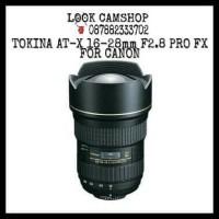 LENSA KAMERA DSLR TOKINA AT-X 16-28mm 16-28 F2.8 PRO FX FOR CANON SLR