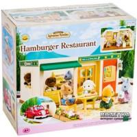 Sylvanian Families - Hamburger Restaurant (Rare)